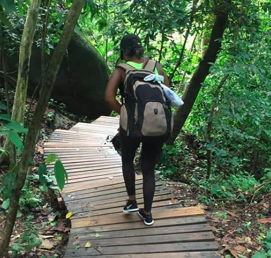 hiking tayrona national park