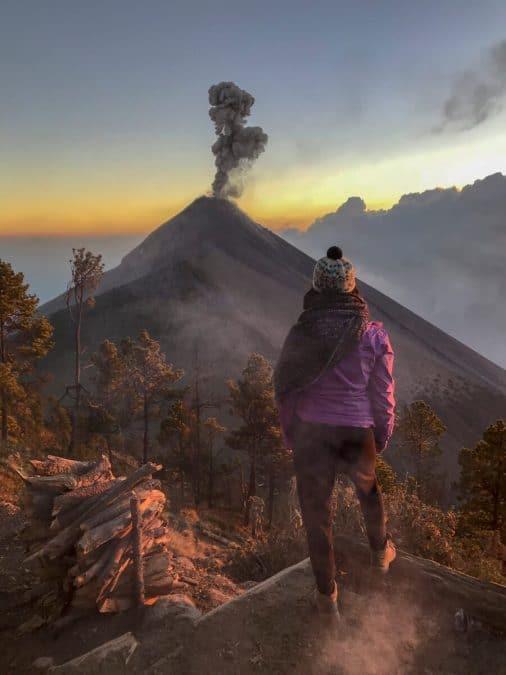 travel bucket list acatenang volcano guatemala