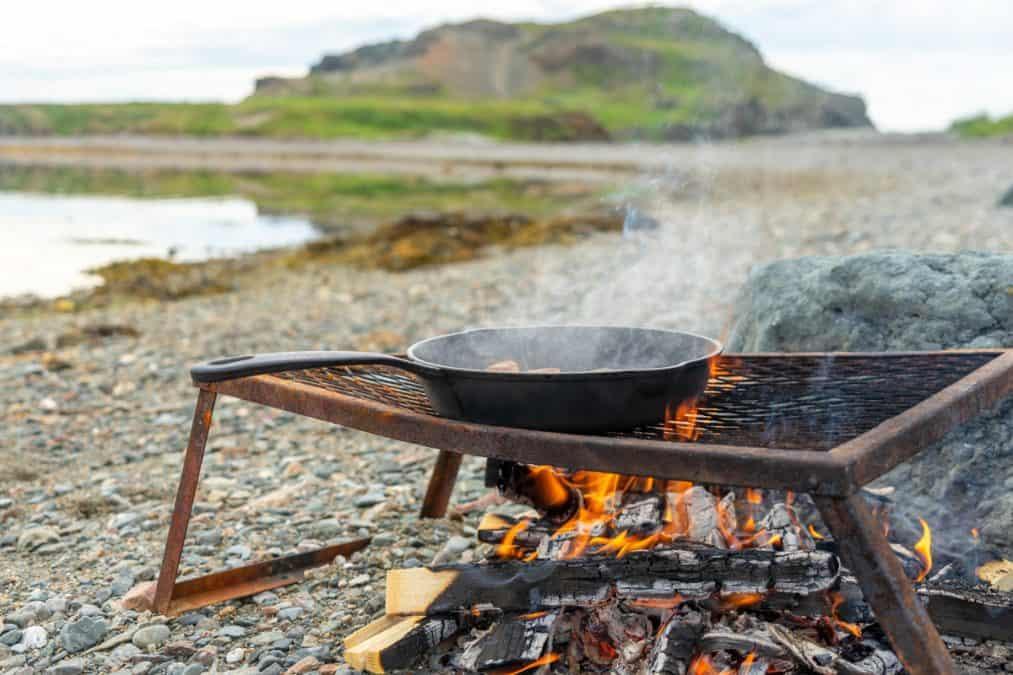 beach boil up in twillingate