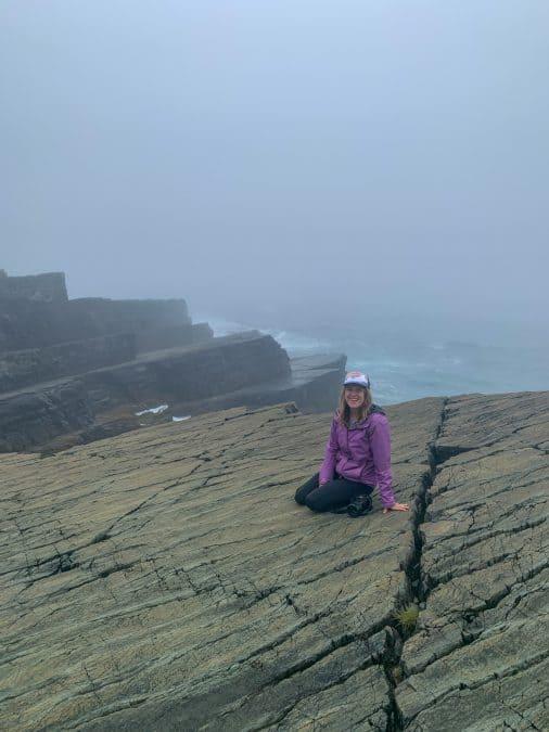 mistaken point on the irish loop newfoundland