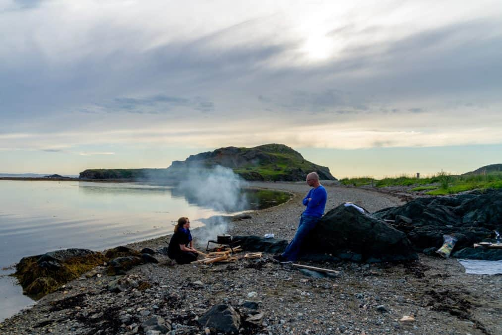 things to do in twillingate - beach boil up