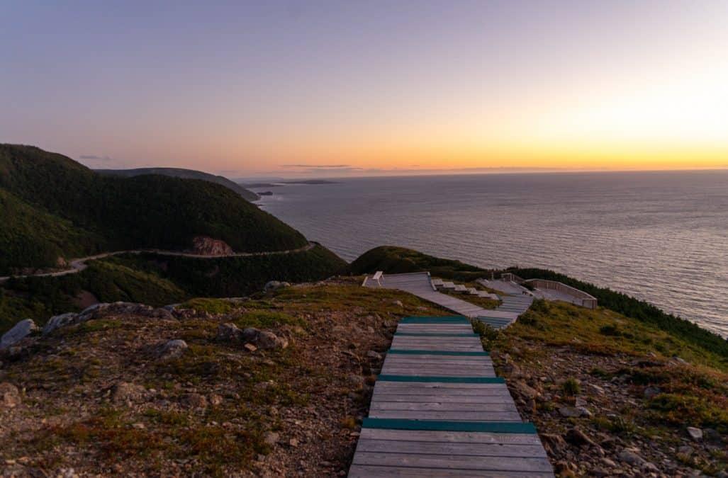 skyline hike cape breton itinerary