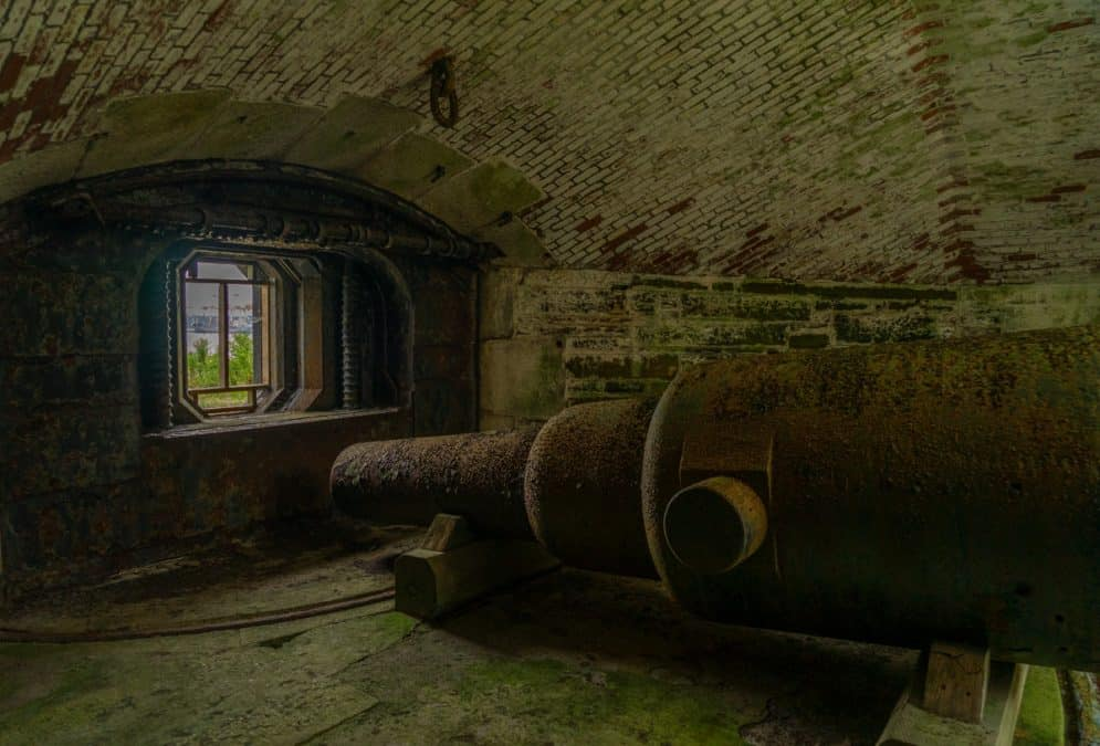 georges island tunnels