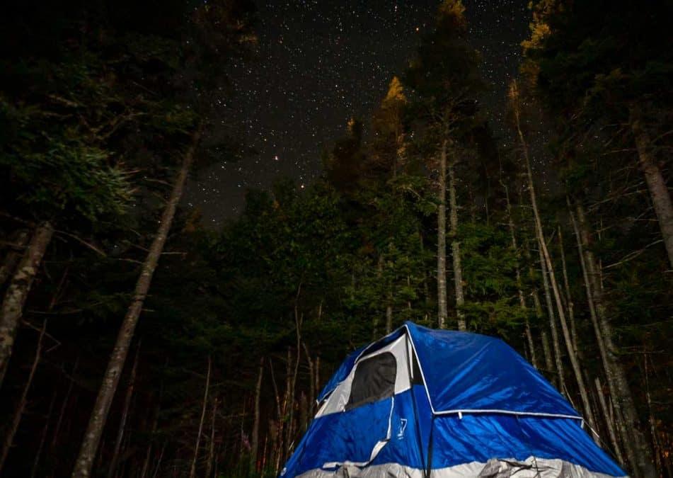 camping at gros morne national park