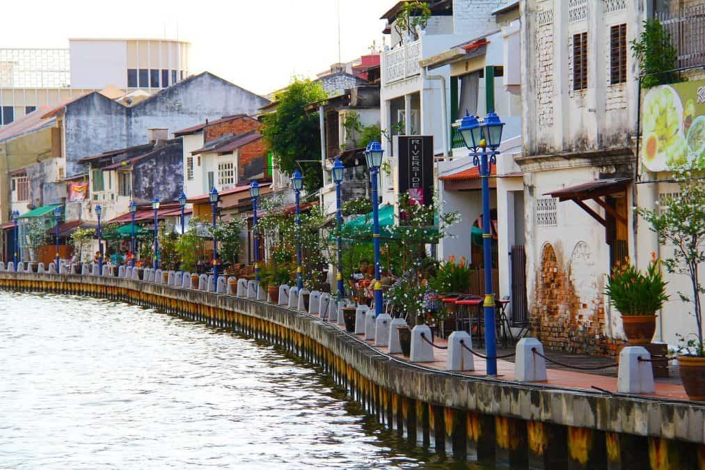 river in malacca, a beautiful city in malaysia