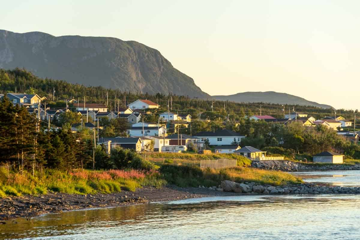 rocky harbour town on the viking trail