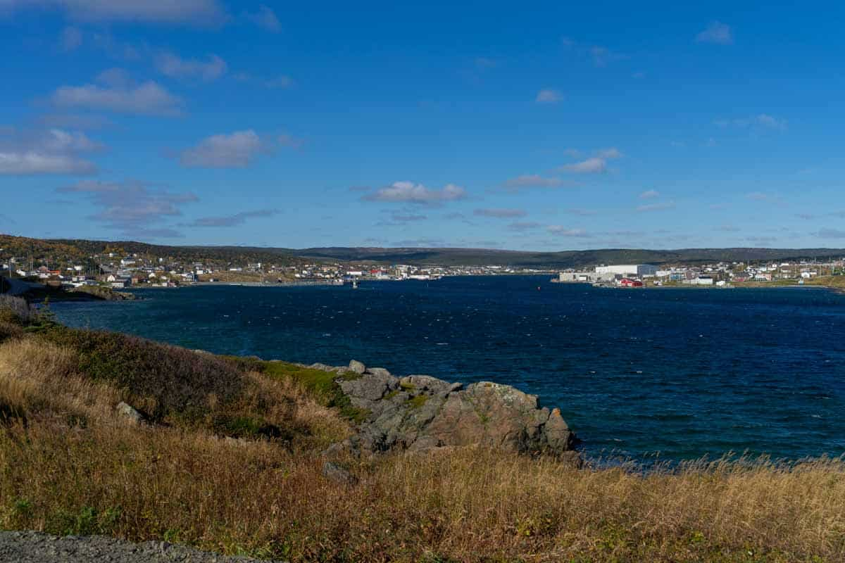 st. anthony town on the northern peninsula newfoundland