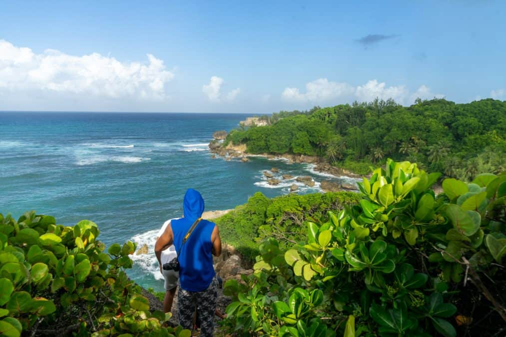 hiking in barbados