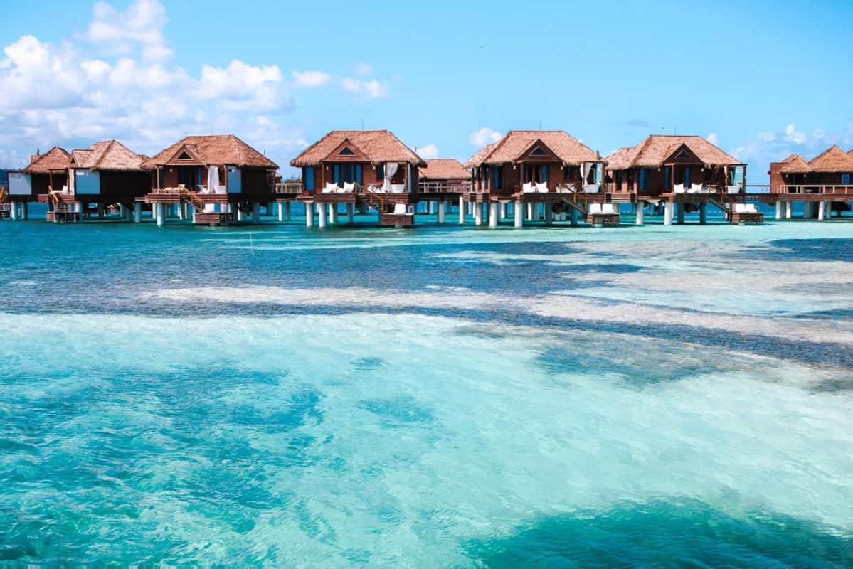 overwater bungalows in jamaica