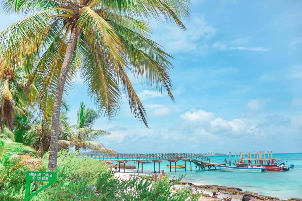 beach in san andres best caribbean islands