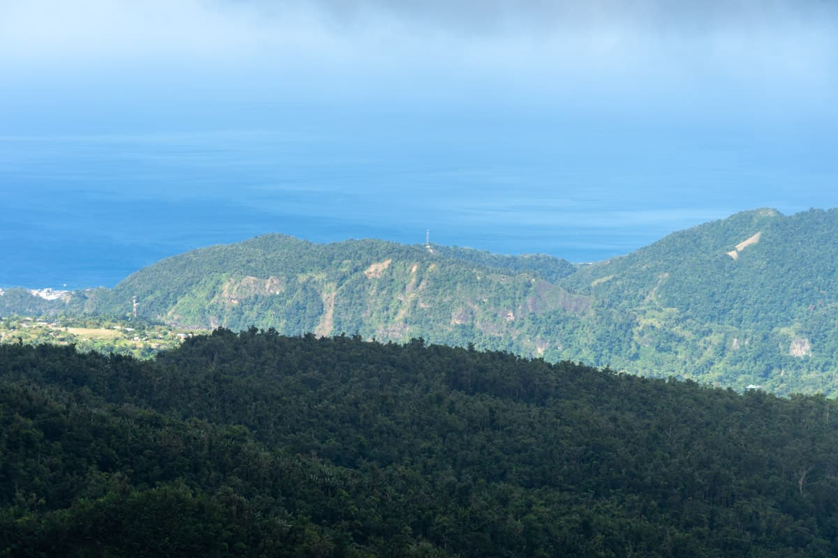viewpoint of roseau dominica