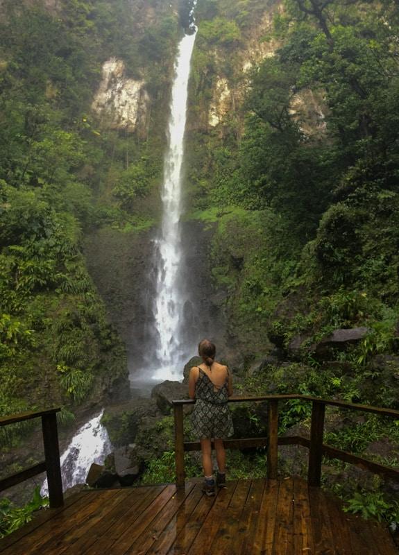 middleham falls dominica hiking