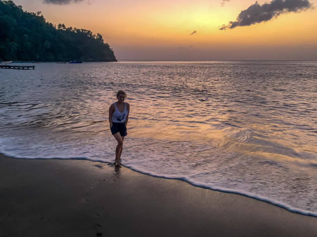 toucari beaches in dominica