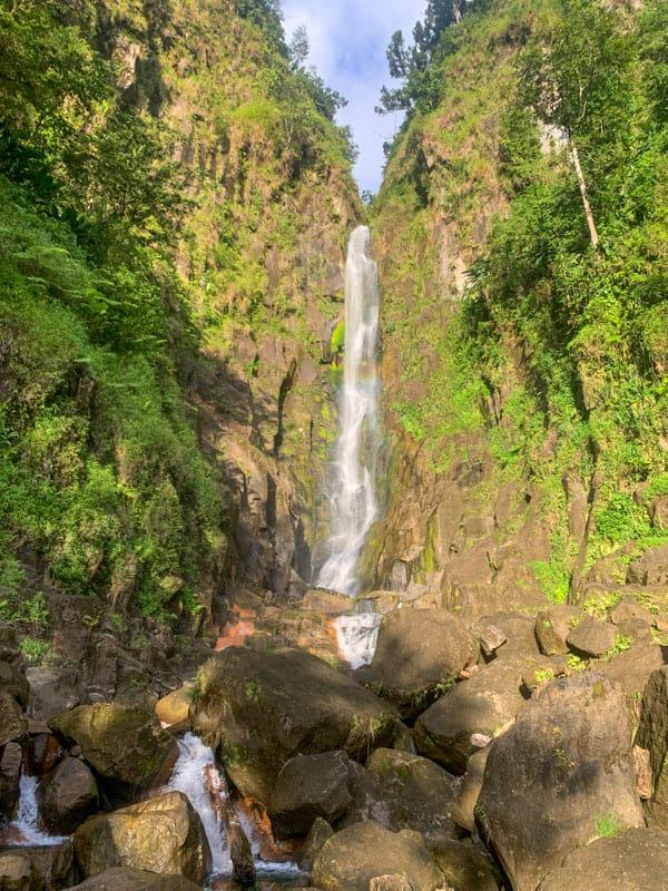 waterfalls in dominica