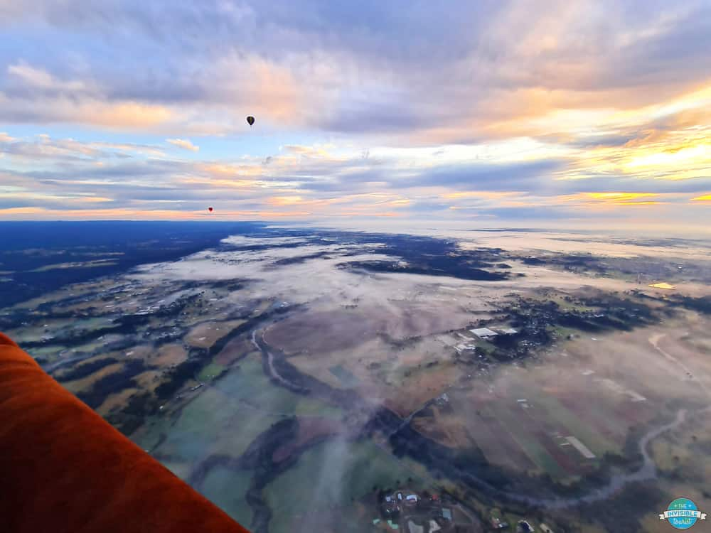 Hot Air Balloon Over Camden Valley - Sydney, Australia