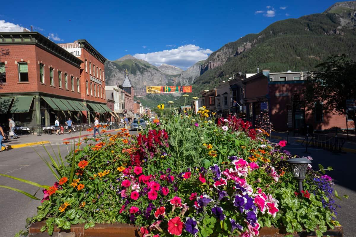 Telluride, Colorado itinerary